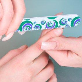 Придание формы ногтям (без маникюра)